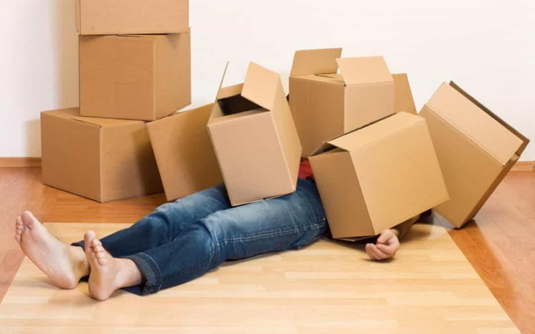 Типичные ошибки при переезде