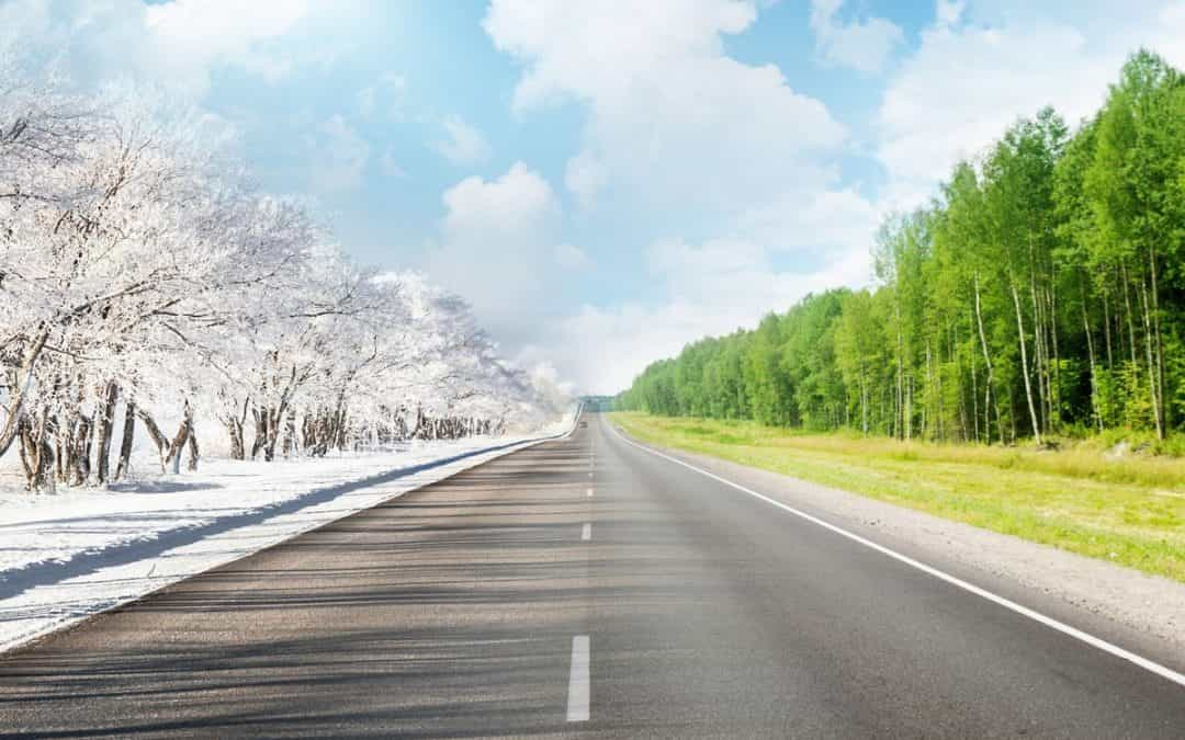 Сравните: переезд зимой и летом