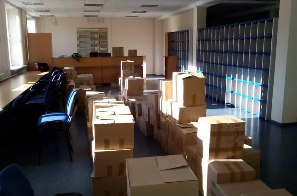 Как подготовиться к офисному переезду?